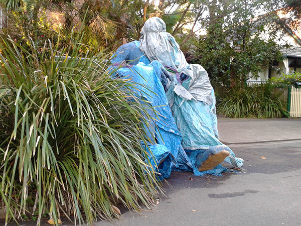 blue-statue